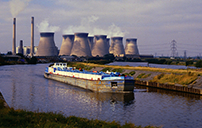 Tanker at Ferrybridge - Aire & Calder Navigation