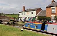 The Admiral Nelson at Braunston