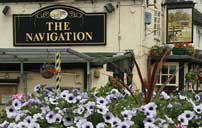 The Navigation Pub sign
